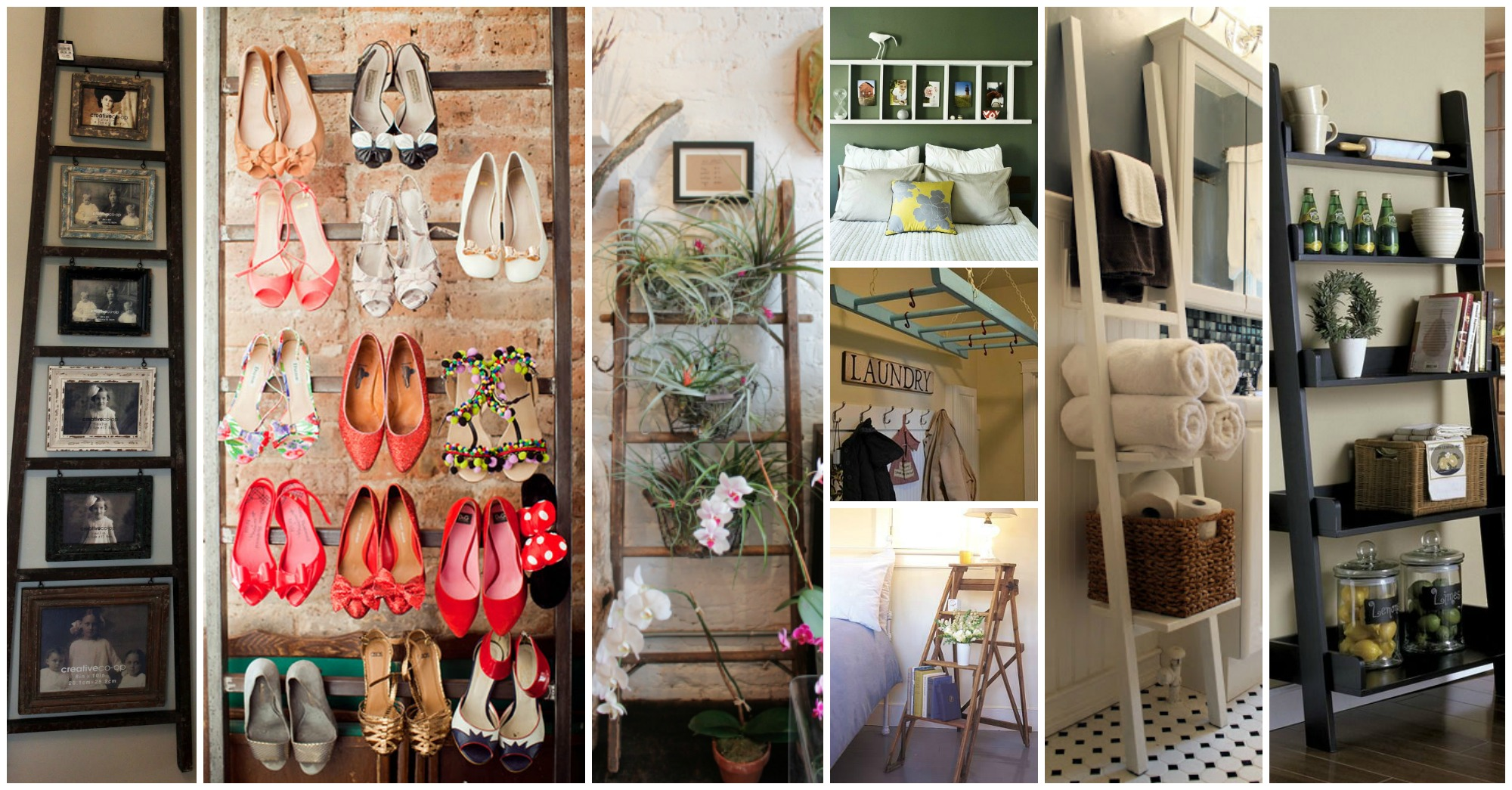 15 Smart Ways to Incorporate a Wooden Ladder in Your Interior