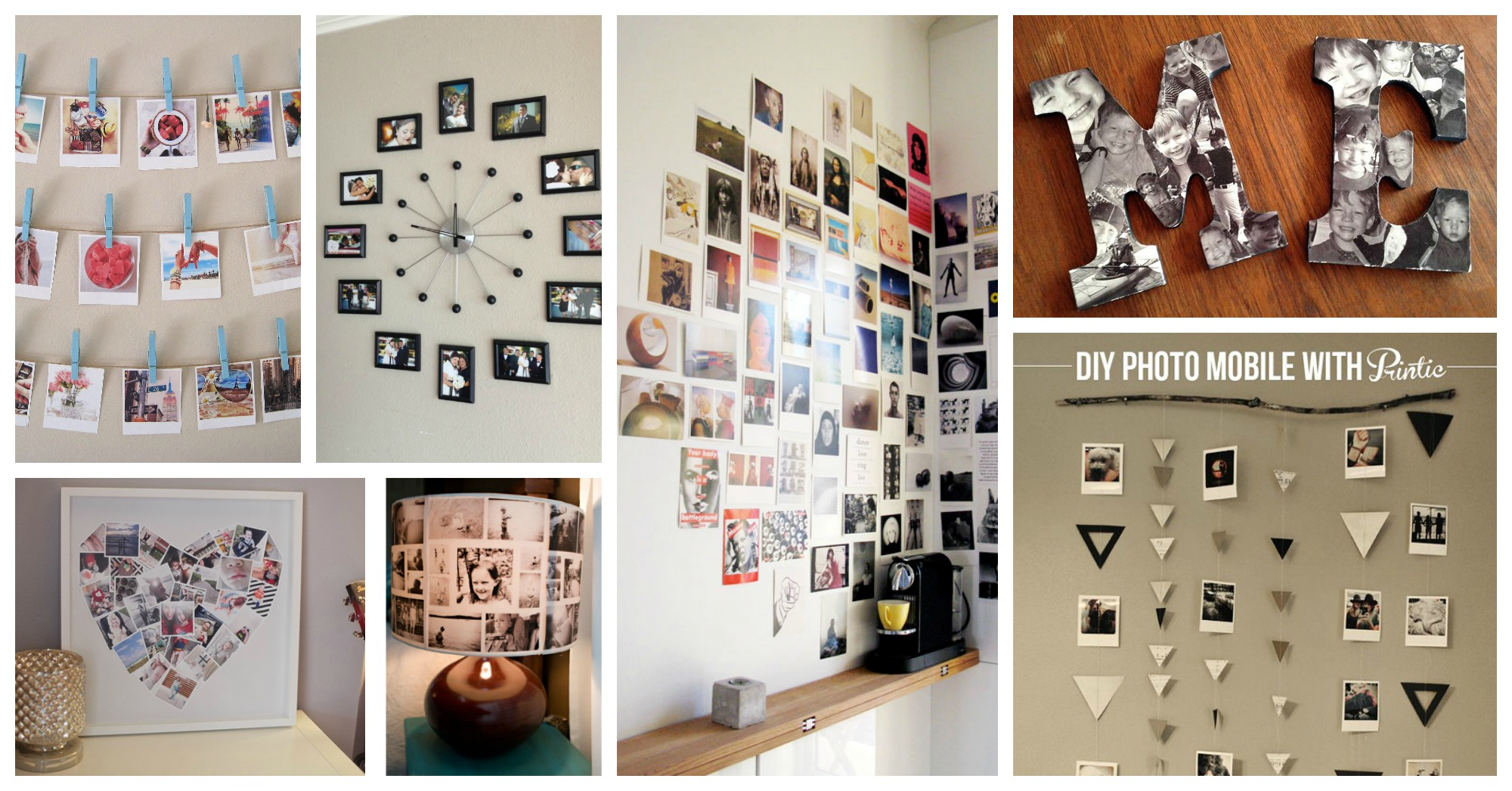 Adorable Diy Photo Collage Ideas That Will Make Your Place