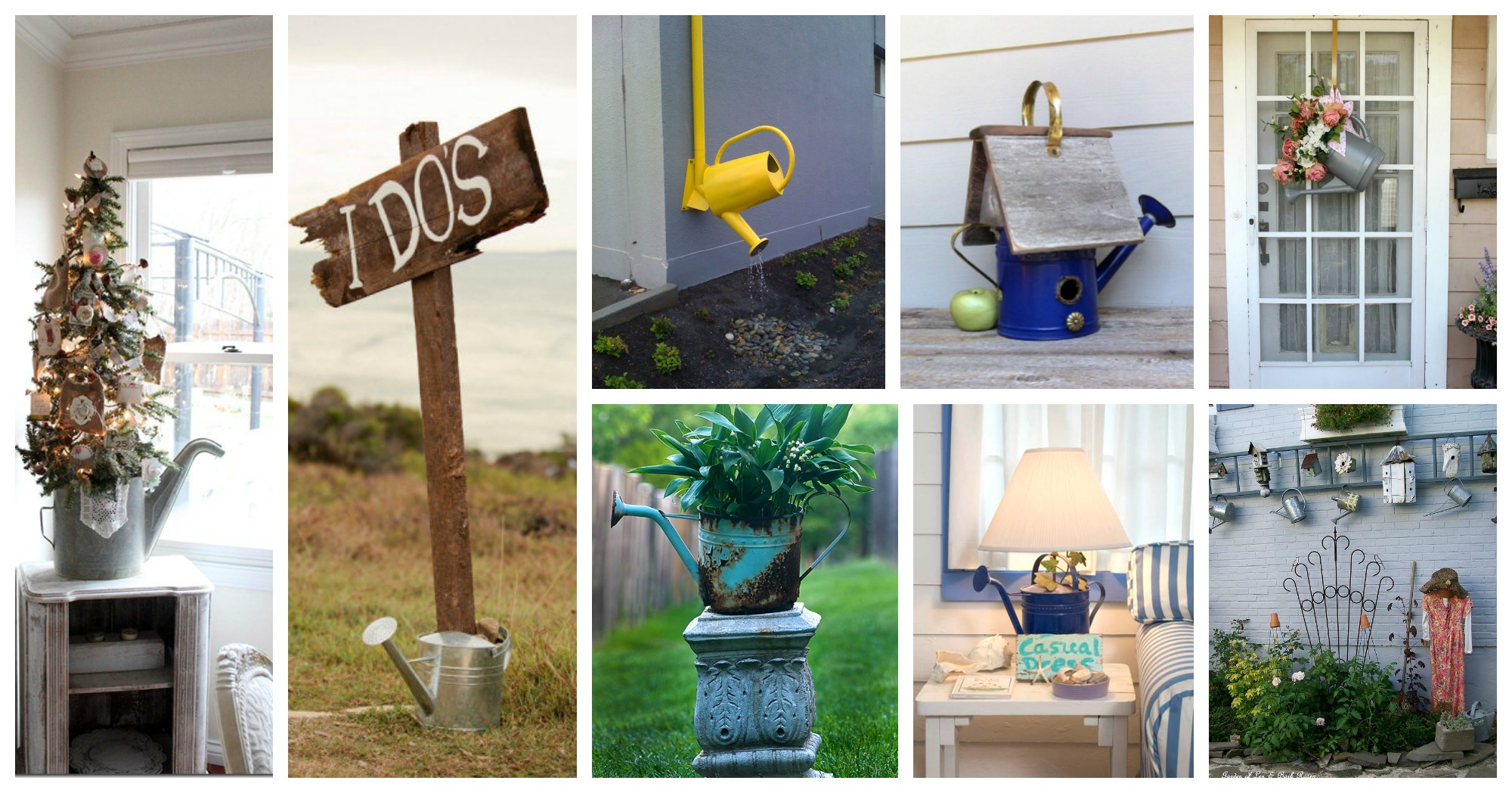 How To Repurpose Watering Cans In A Wonderful Way
