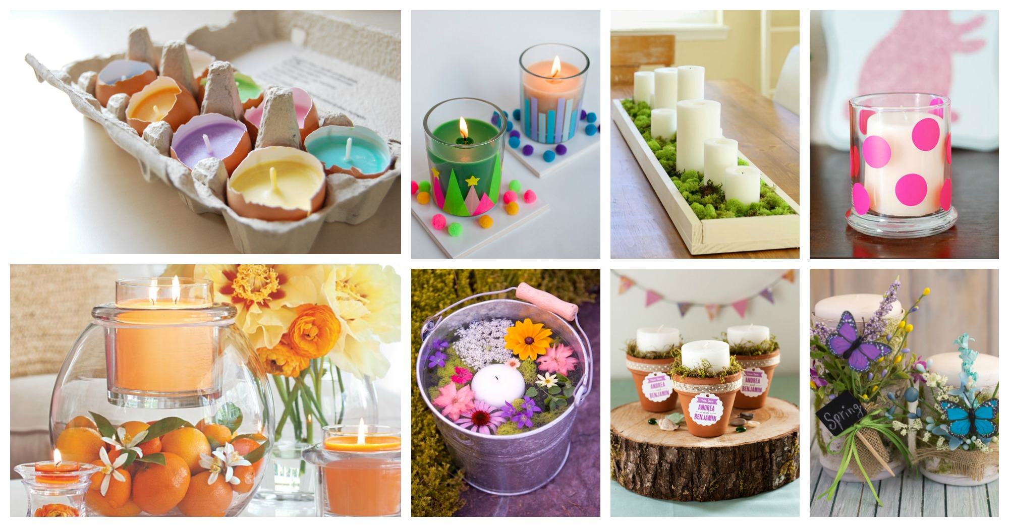 Adorable DIY Spring Candle Decorations That Will Make A Statement In Your Home