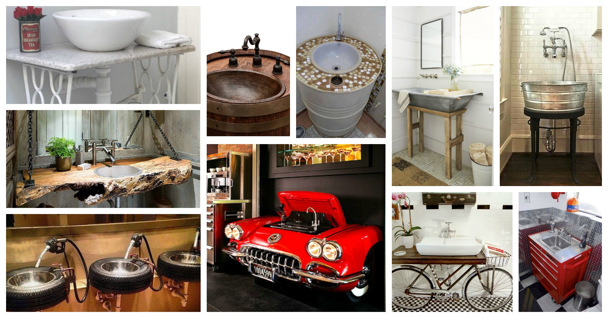 Interesting Upcycled Sinks That You Have To See Now