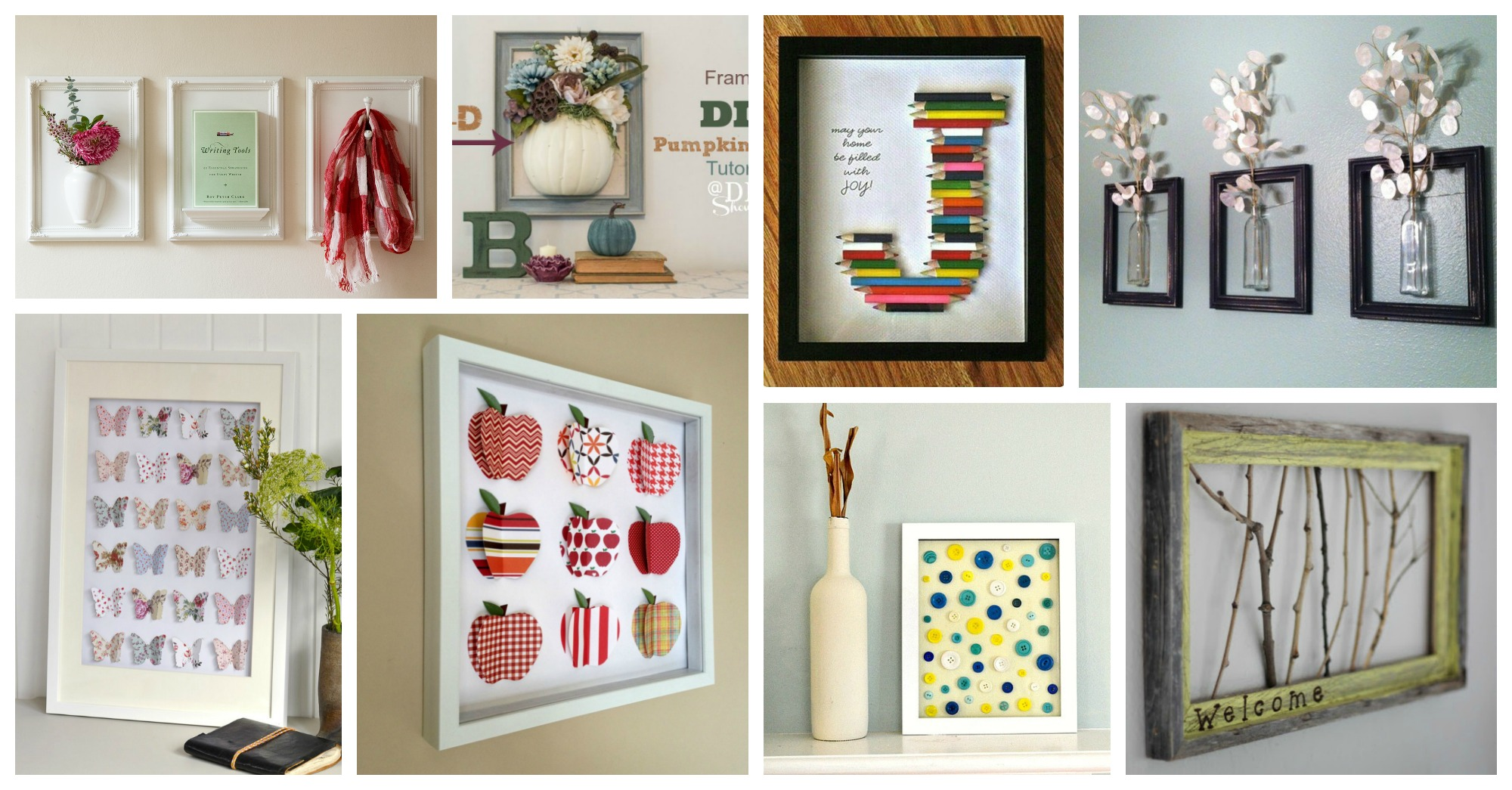 Amazing DIY 3D Frames To Decorate Your Walls In Awesome Ways