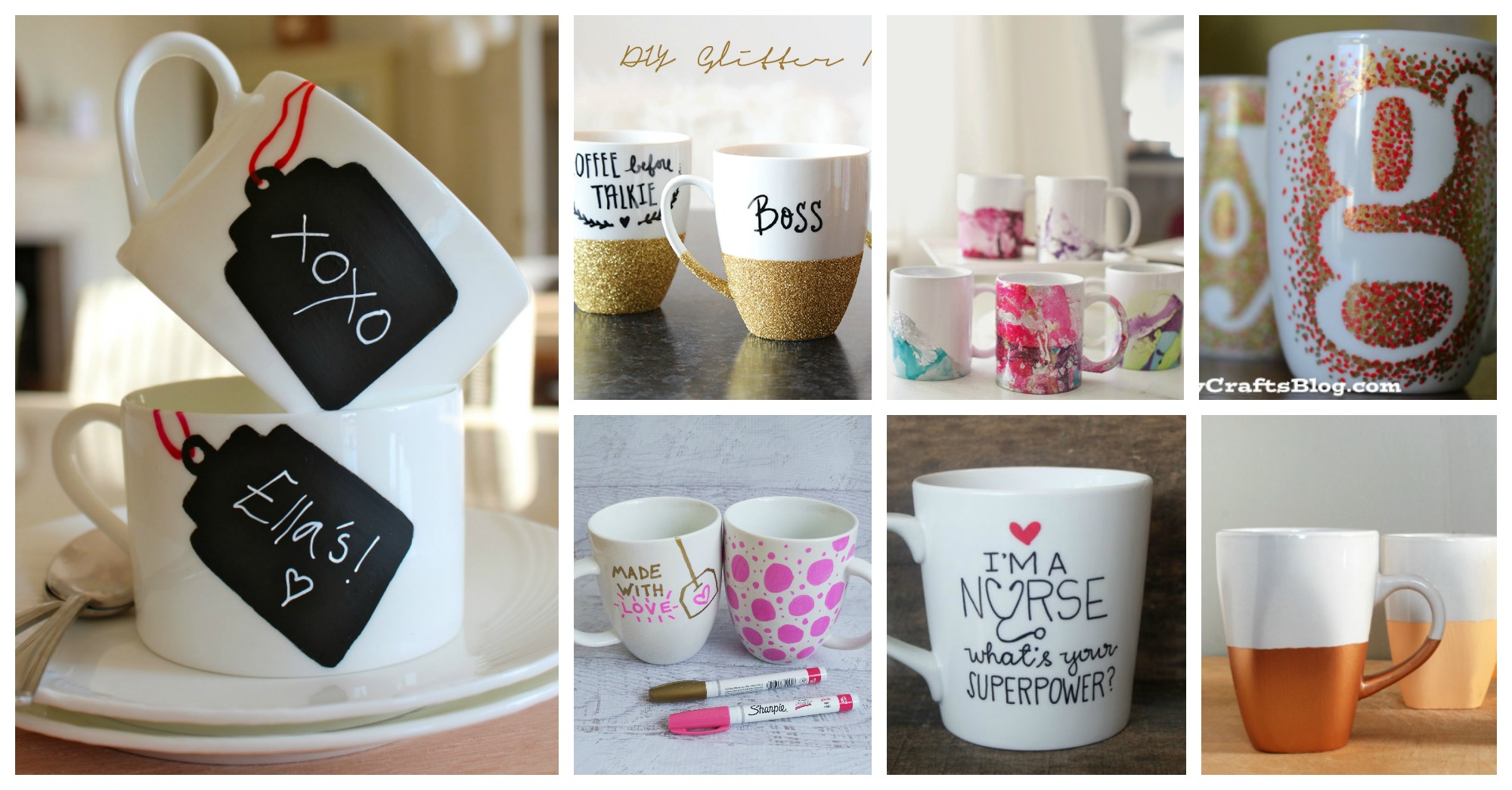 Awesome Diy Personalized Mugs That Are Easy To Make