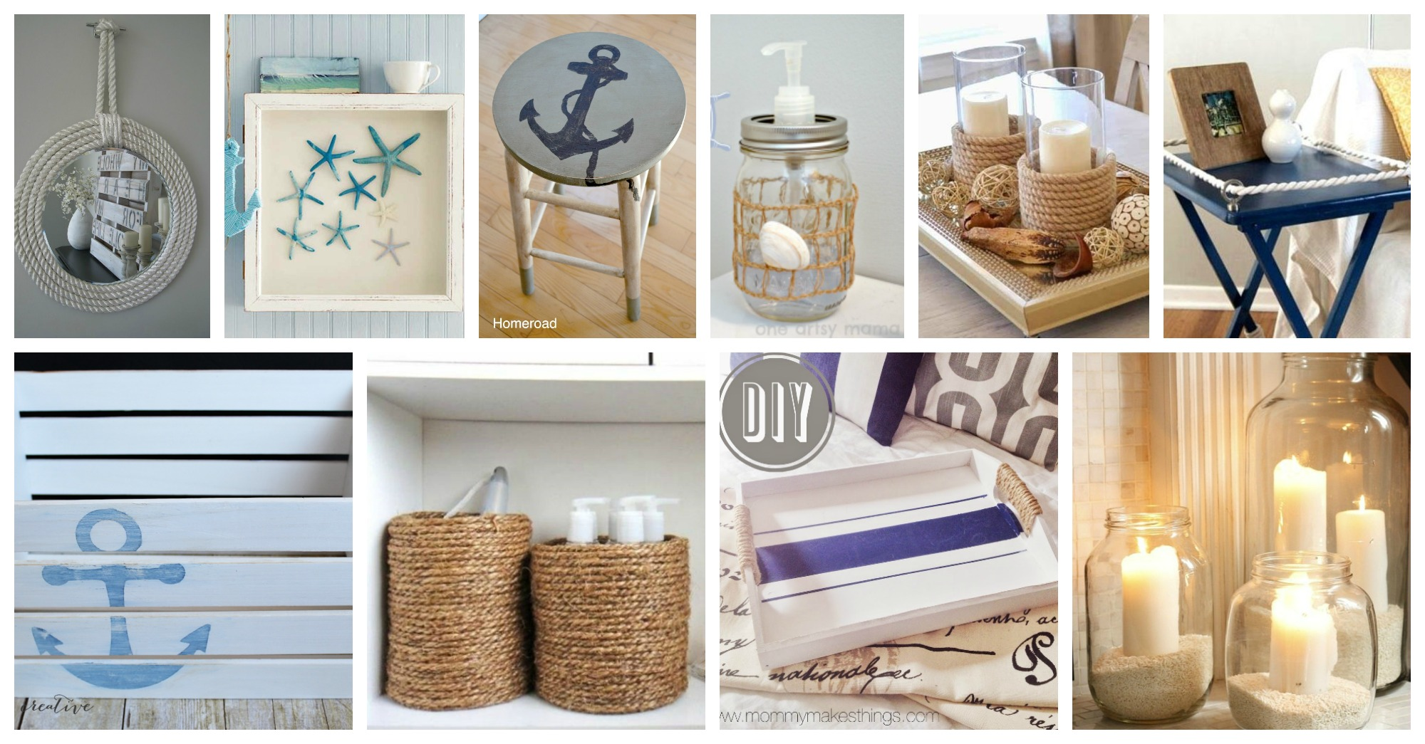 Eye Catching Diy Nautical Crafts That Will Make You Want Go