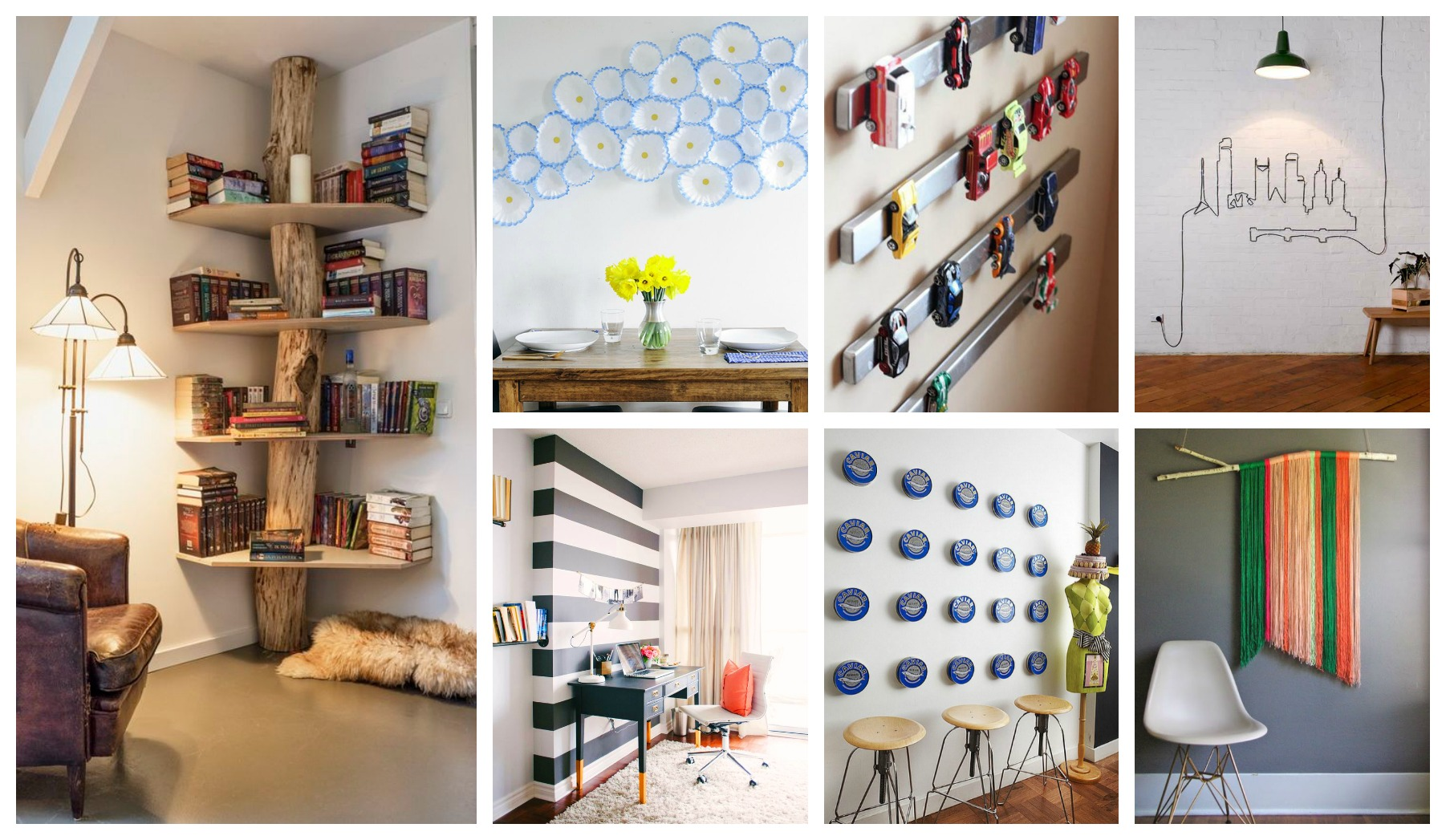 Cheap Wall Art And Decor: Cheap And Easy Wall Decorations That Will Amaze You