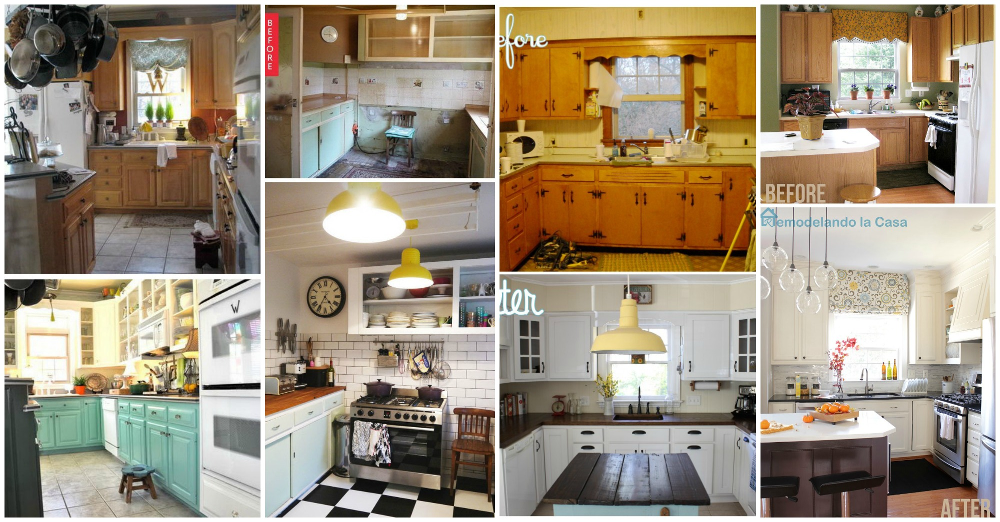 10 Fantastic Before And After Kitchen Makeovers