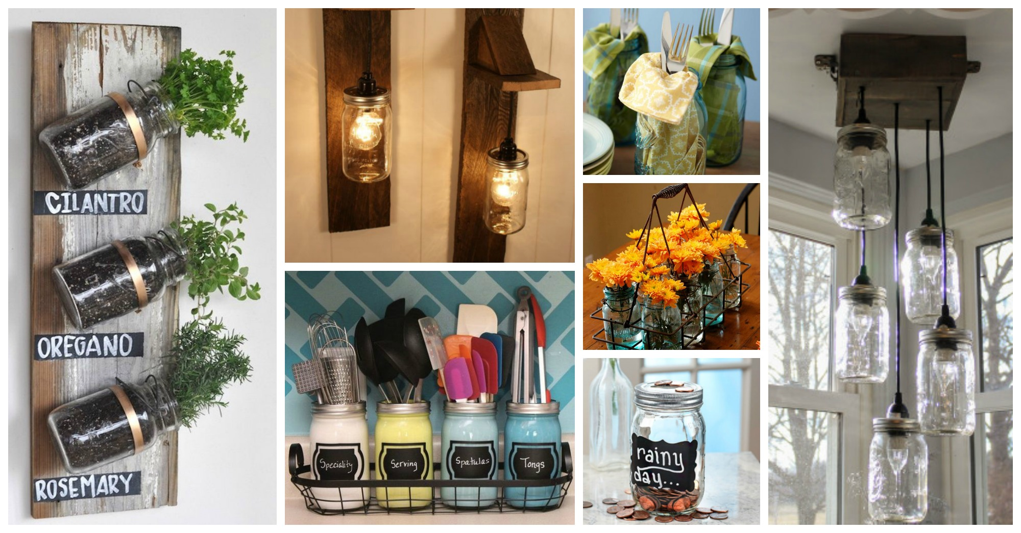 10 Fun Ways to Use Mason Jars in Your Home Decor
