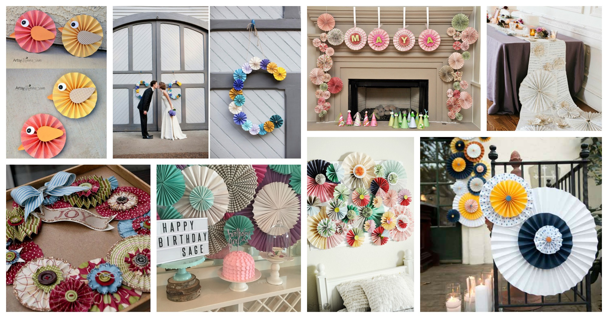 Lovely DIY Rosette Home Decor Ideas That Will Catch Your Eye