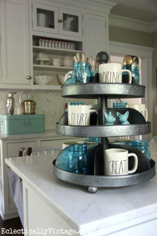 Kitchen Counter Organization Ideas 5 storage-friendly organization ideas for your kitchen countertop