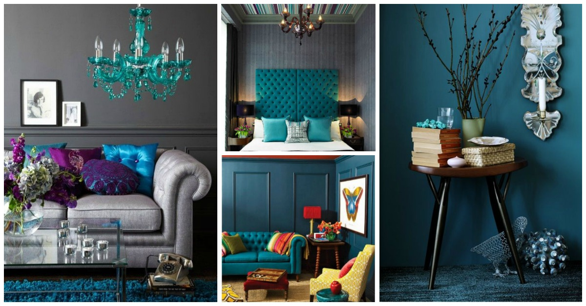 12 Fantastic Decor Ideas To Add Teal Accents To Your Interior