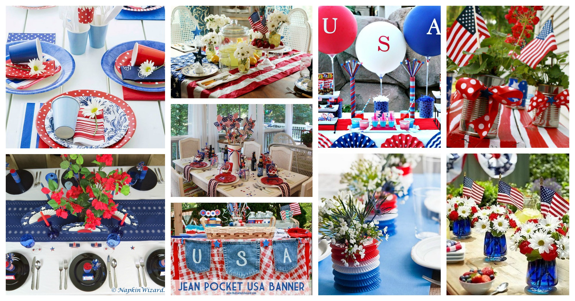 4 July Table Decor Ideas Archives