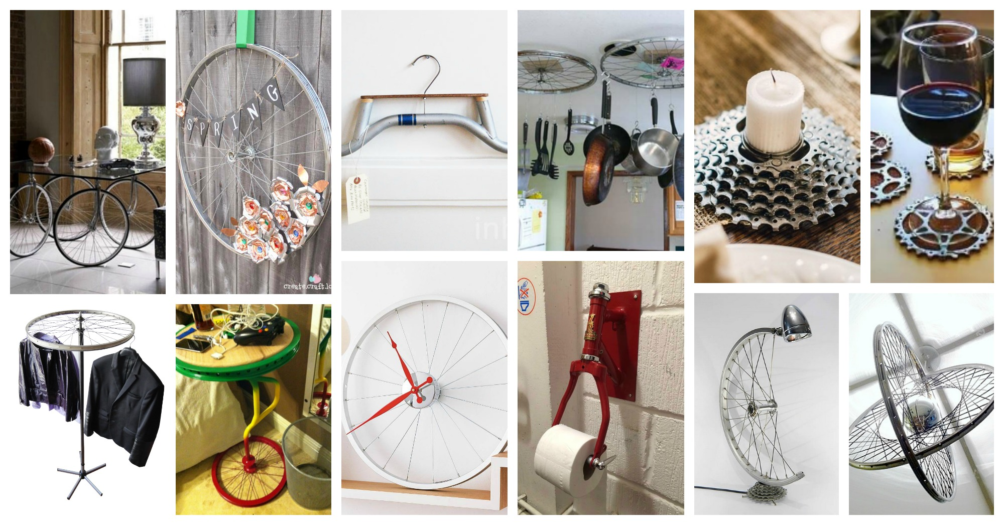 How To Repurpose Bike Parts In Home Decor In Fantastic Ways