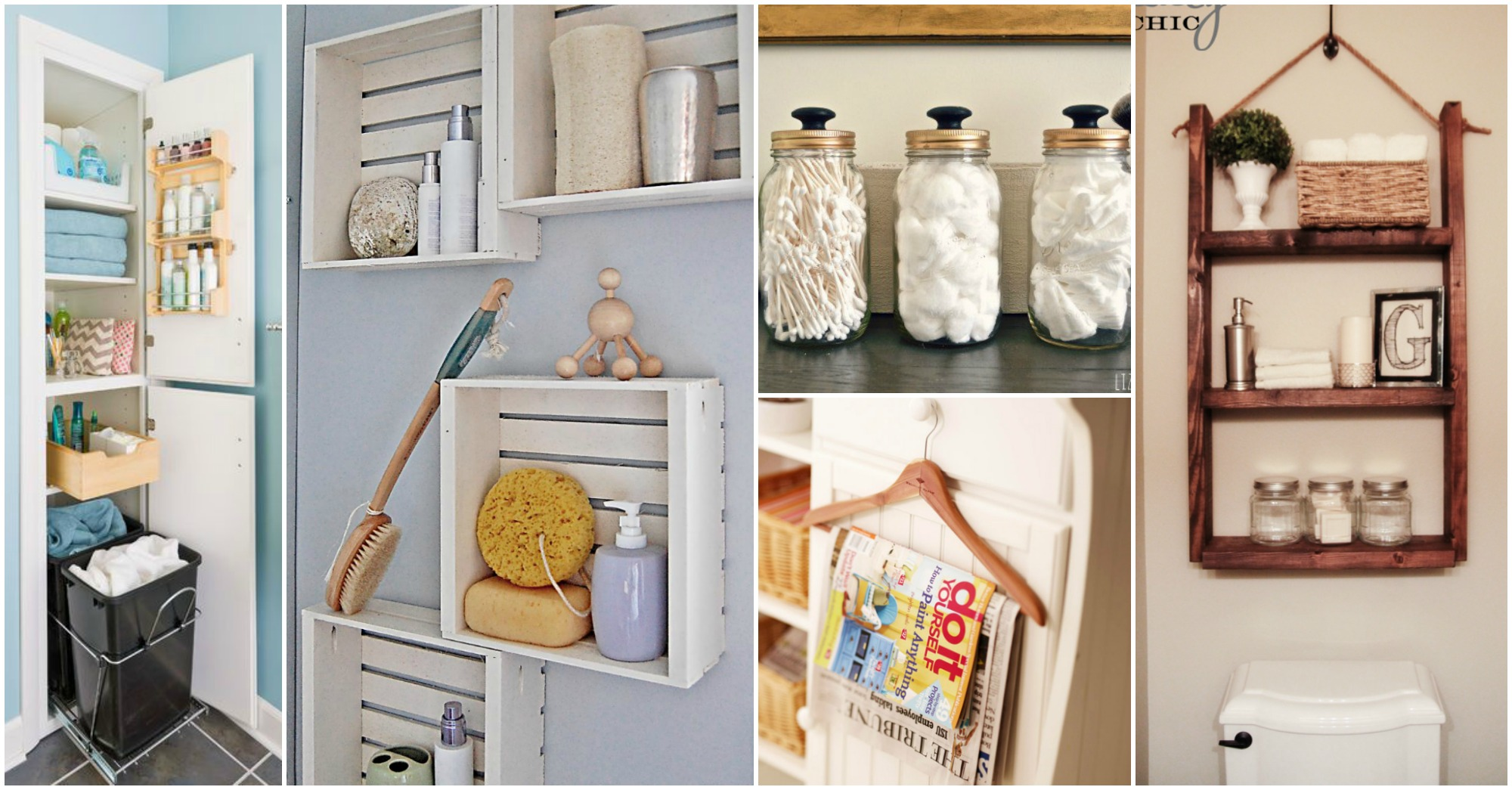 10 Small Bathroom Organization Hacks You Should Not Miss