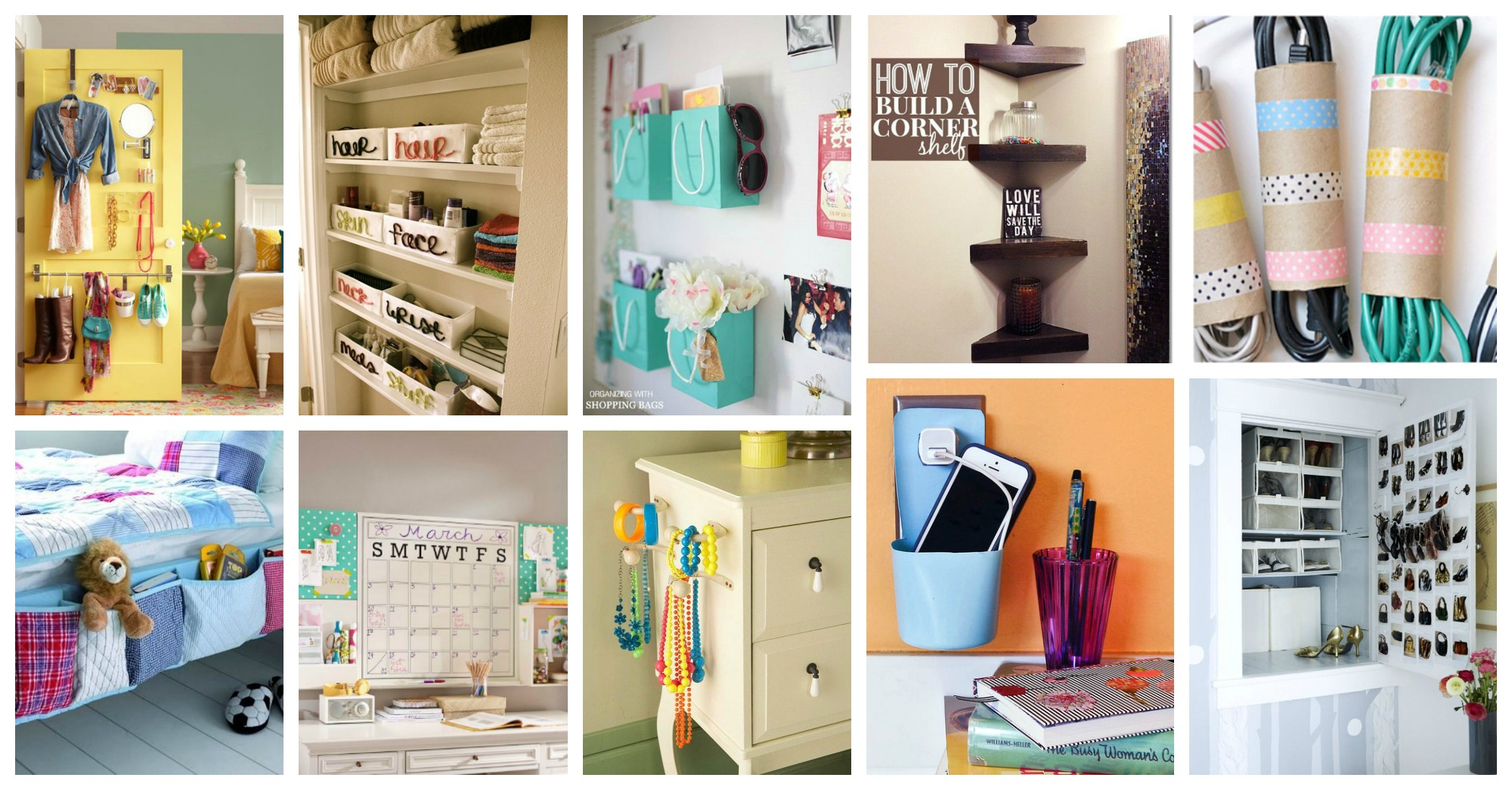 Teen room organization tips