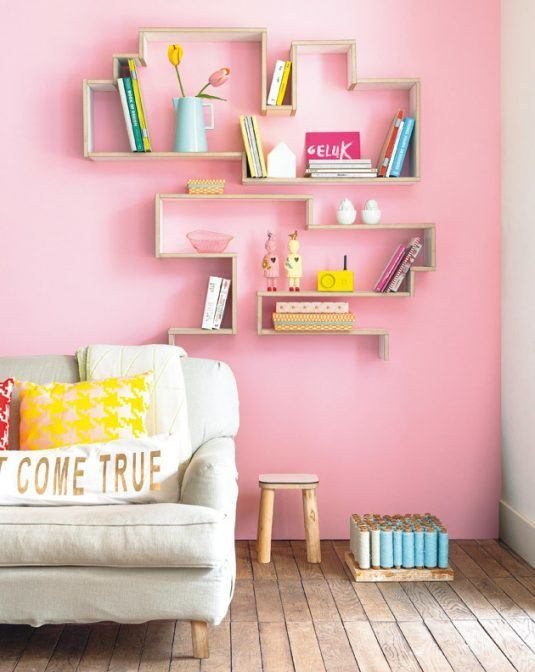 15 DIY Geometric Shelves You Can Make in No Time