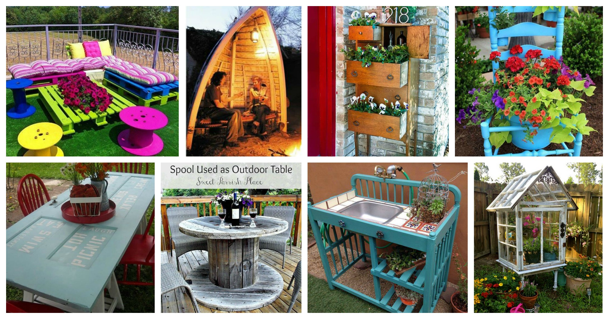 Smart Upcycled Yard Furniture That Will Make You Say Wow