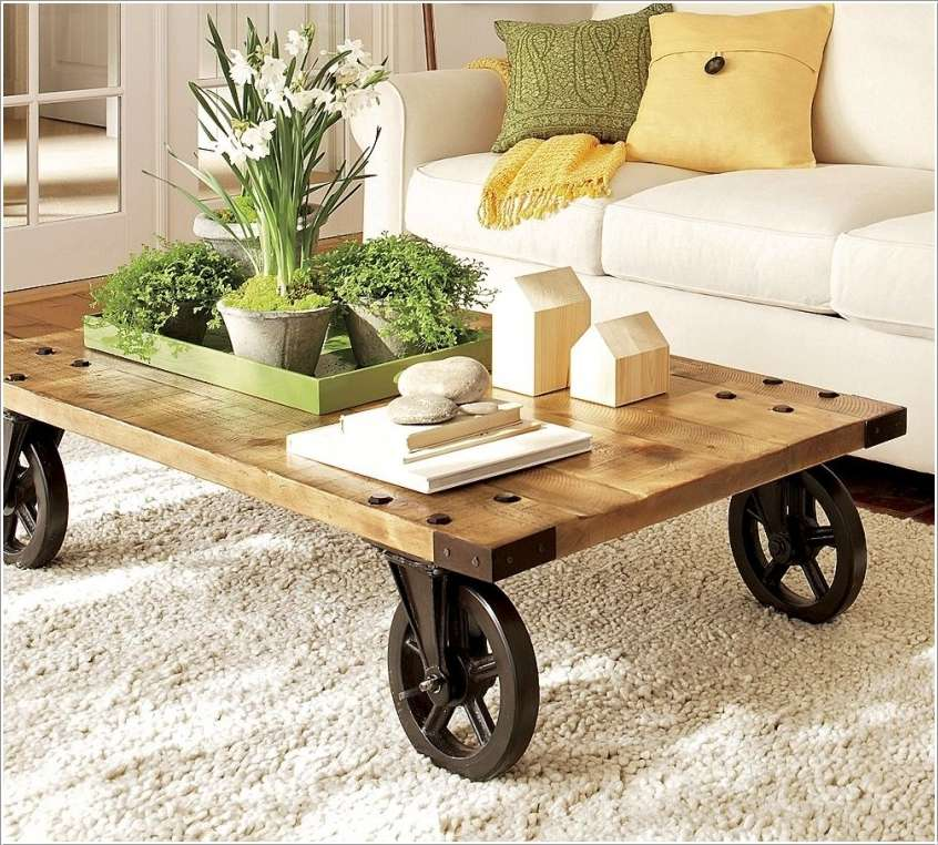 Cheap And Easy-To Make DIY Coffee Tables