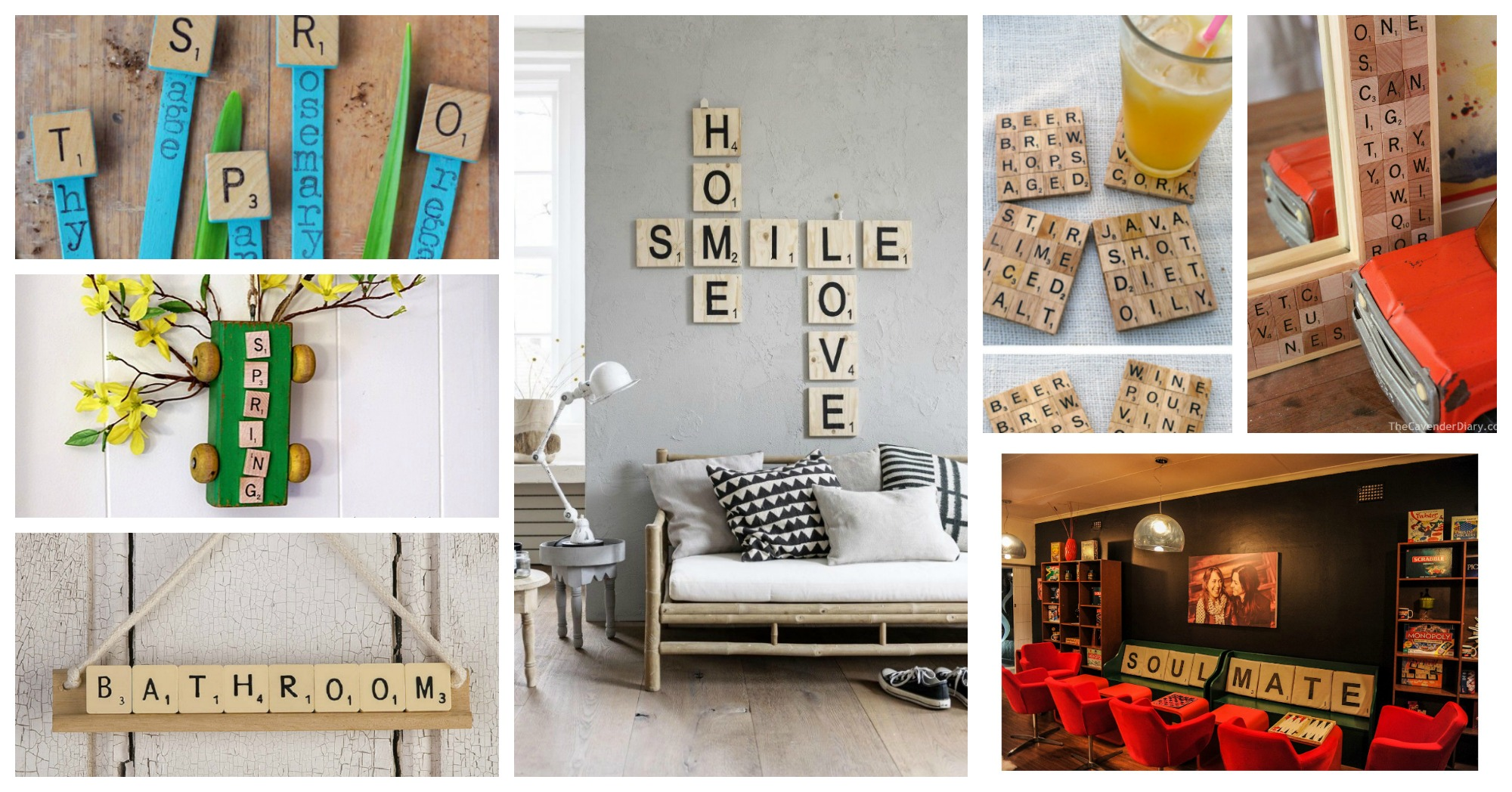 Interesting DIY Scrabble Projects That Will Add A Fun Twist To Your Home