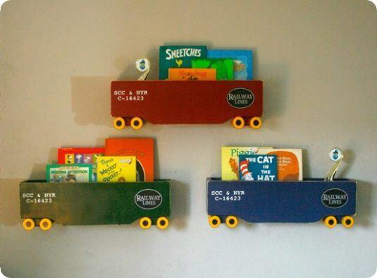 DIY-Home-Decor-Kid-Train-Shelves