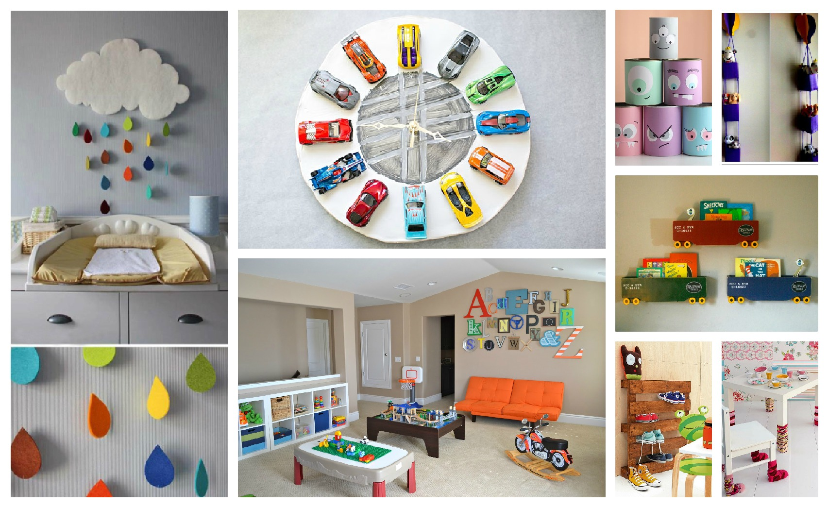 Cheerful kids 39 room decorations that you will fall in love for Room decor videos diy