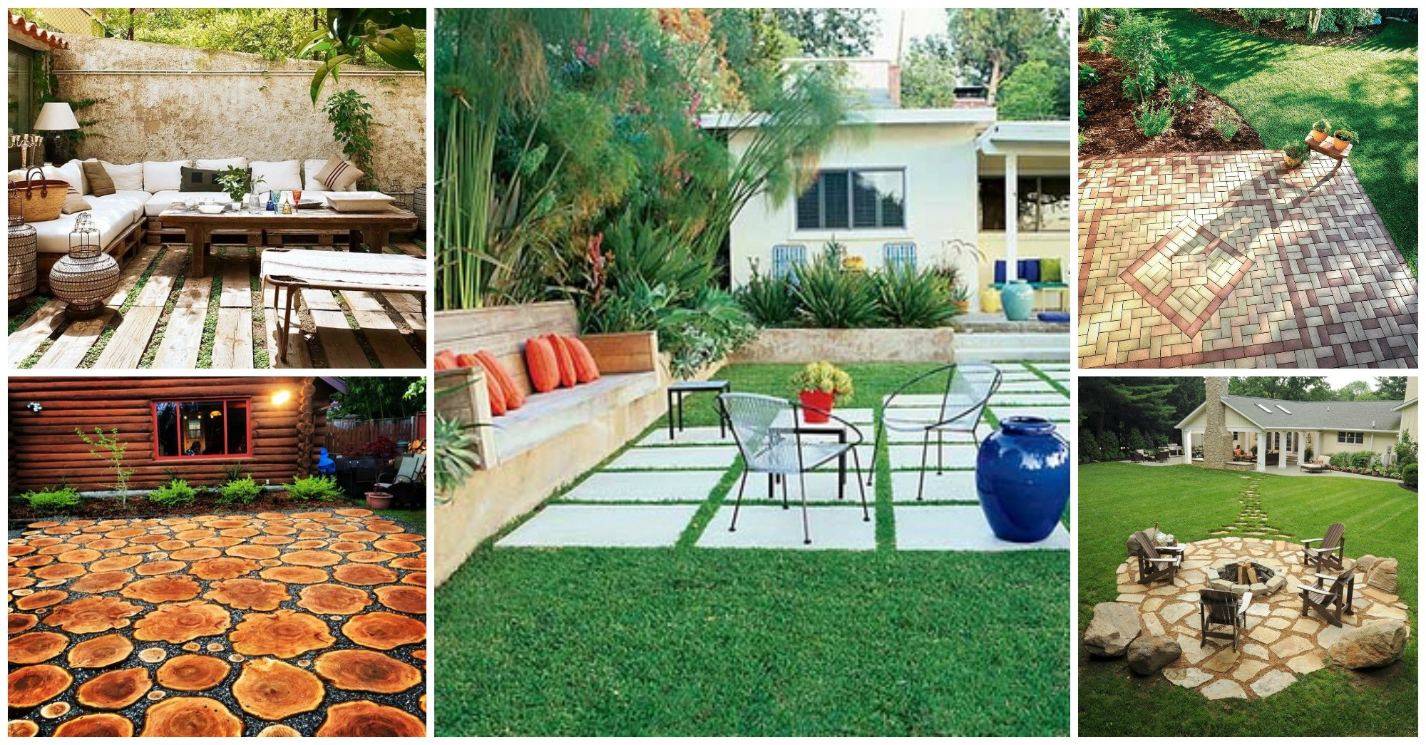 10 Fantastic Patio Flooring Ideas
