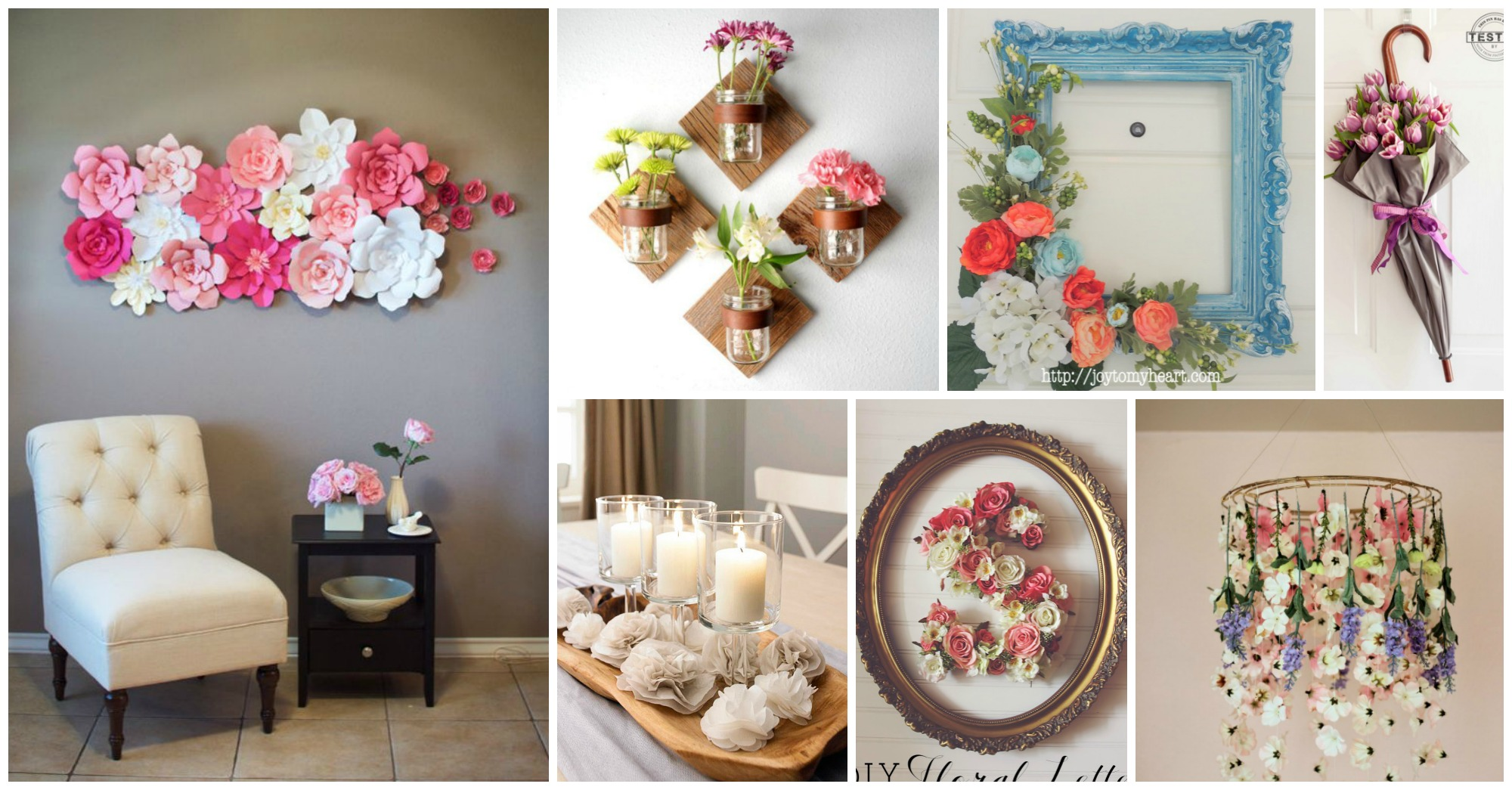 10 Amazing DIY Flower Projects to Make Your Home More Cheerful