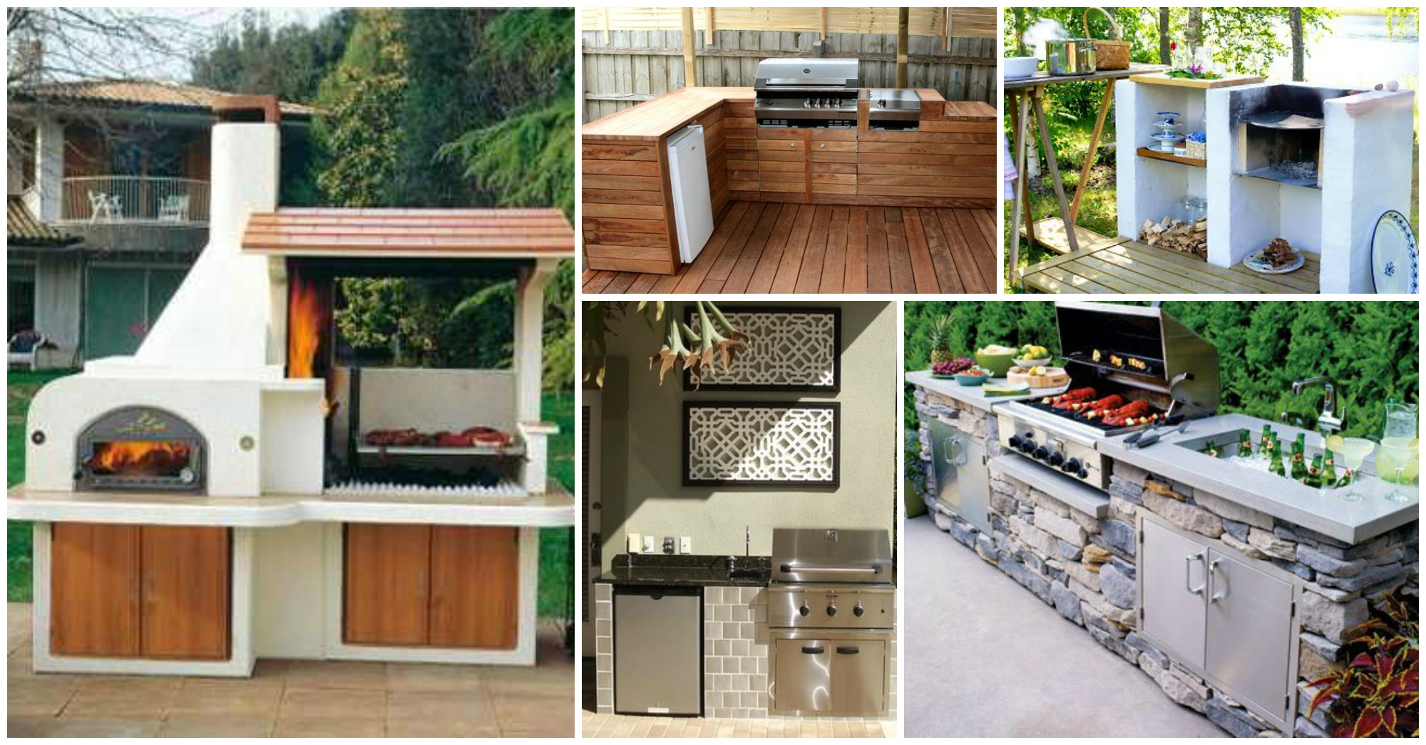10 Interesting Outdoor Kitchens That Will Make You Say WoW