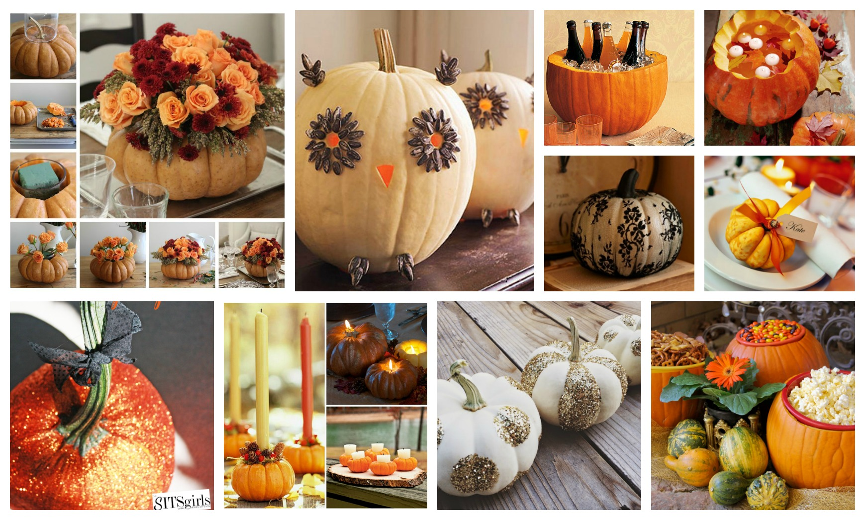 Cute DIY Pumpkin Decorations To Welcome The Fall