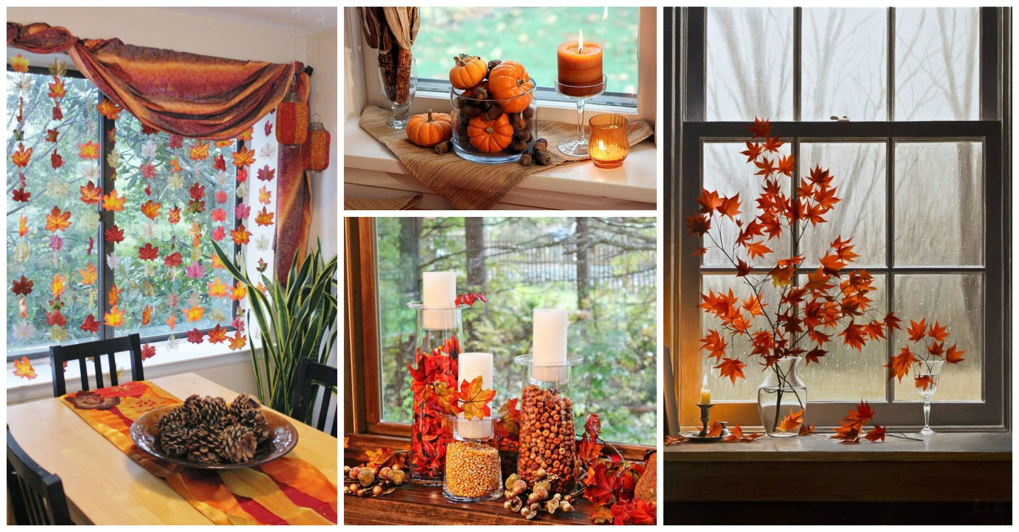 13 Amazing Ways To Decorate The Windows This Fall