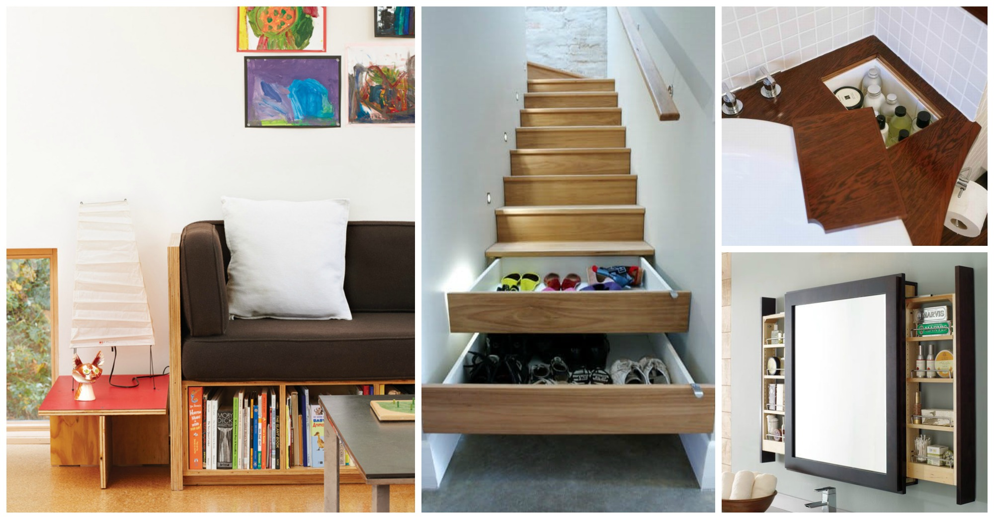 10 Storage Hacks for Small Homes