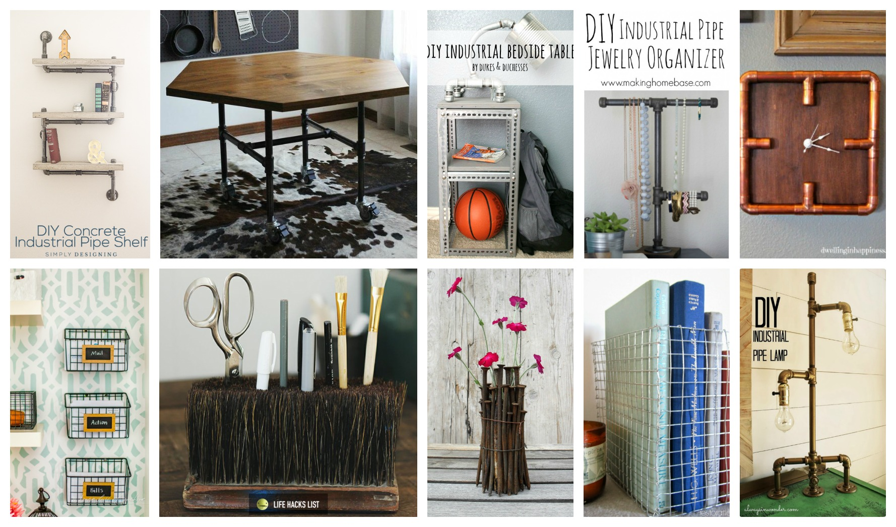 Industrial diy projects that will blow your mind for Industrial diy projects