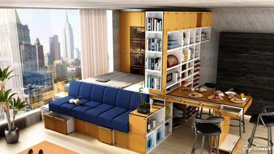 Emejing Cool Studio Apartments Gallery Home Iterior Design