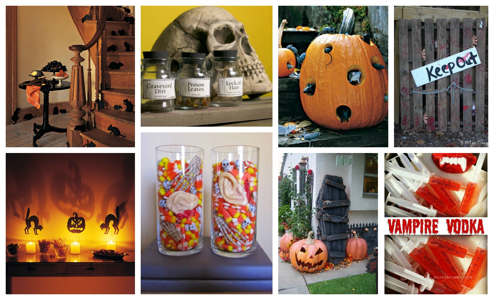 scary diy halloween crafts that will impress you a lot