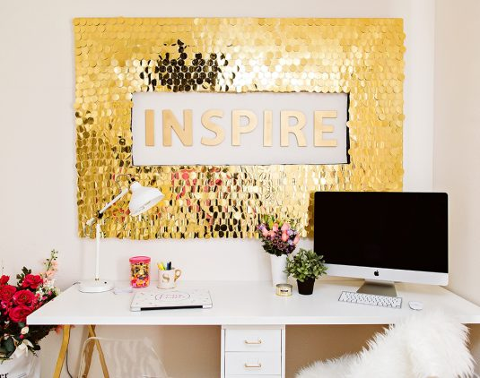 diy-sequins-wall-art