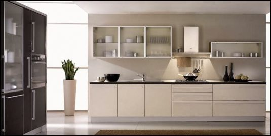 mdf-kitchen-with-glass-cabinets-1