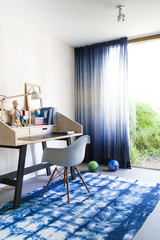 shibori-rug-in-an-office-space
