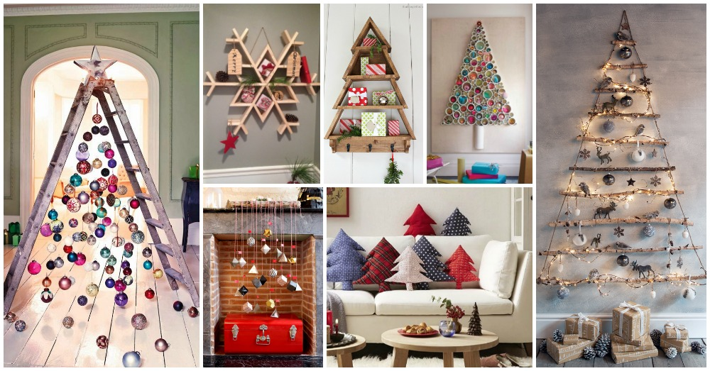 14 Christmasy-Inspired Shelves and Decors