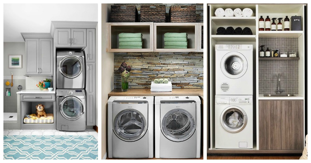 Save Some Precious Space With These Small Laundry Room Ideas