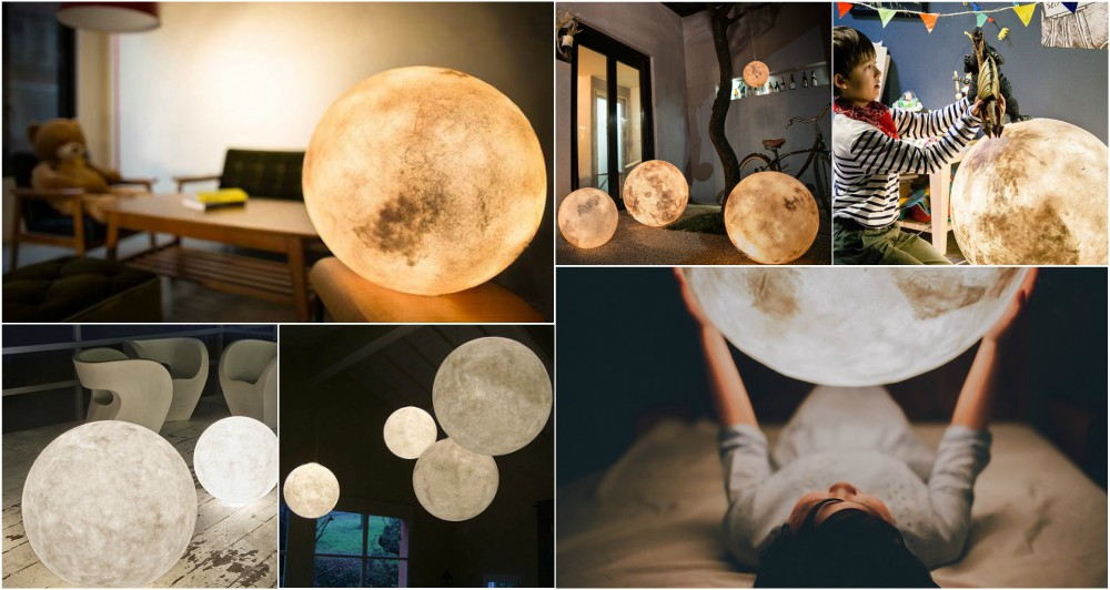 Bring The Moonlight In Your Home With This Fantastic Moon Lantern