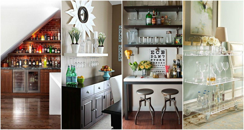 Genius Home Bar Ideas That You Can Create Even In Small Space