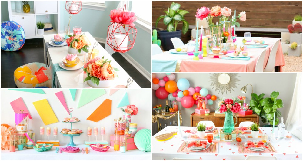 4 Spring Party Decor Ideas That Will Leave Your Guests Speechless