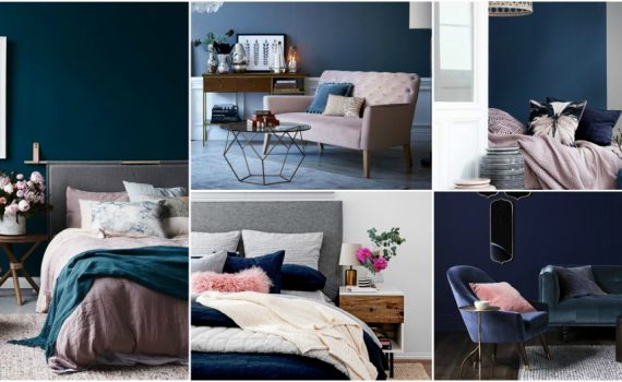 Blush And Navy Interior Ideas Feature The Latest Trend In The Right Way