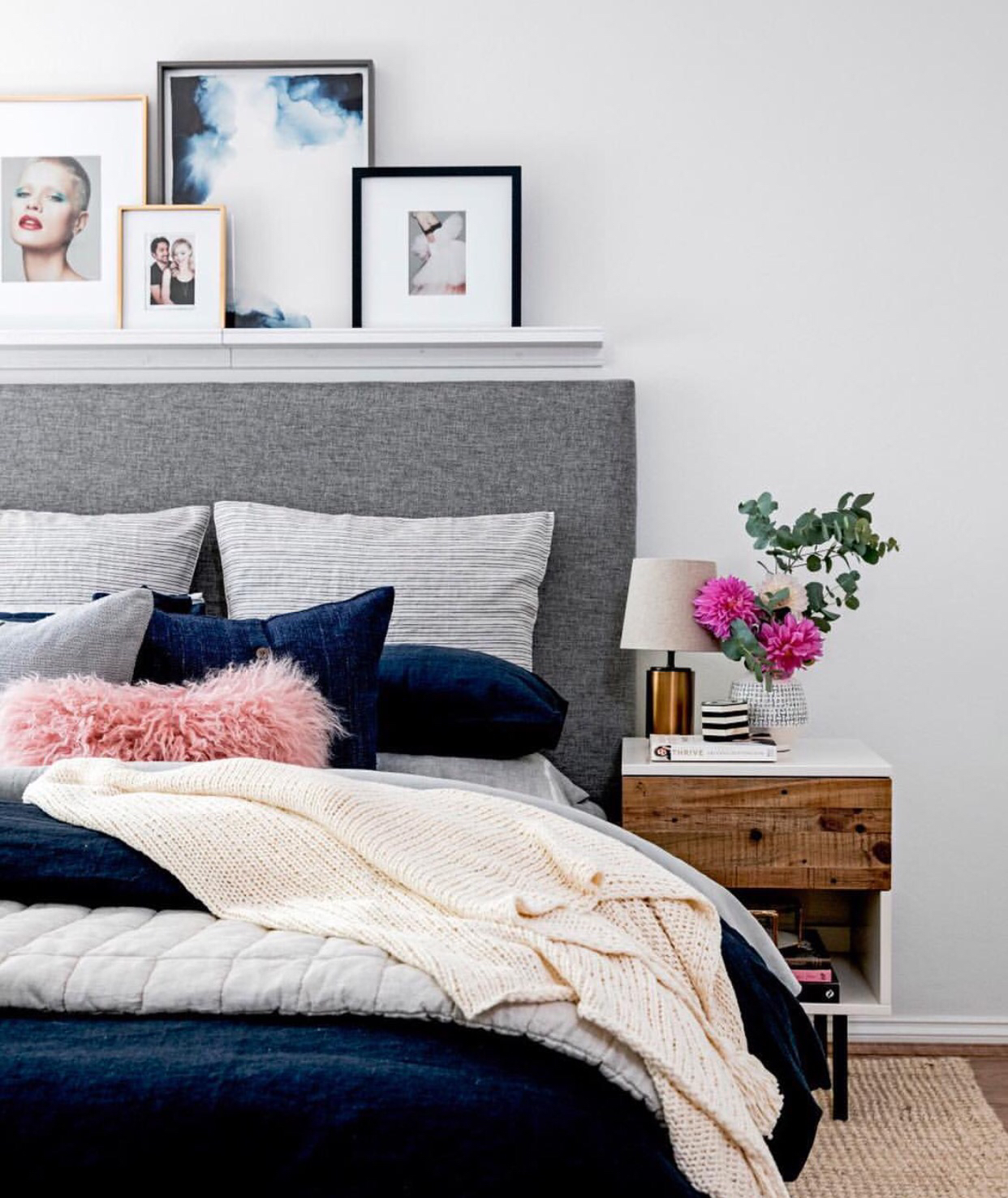 Blush And Navy Interior Ideas Feature The Latest Trend In