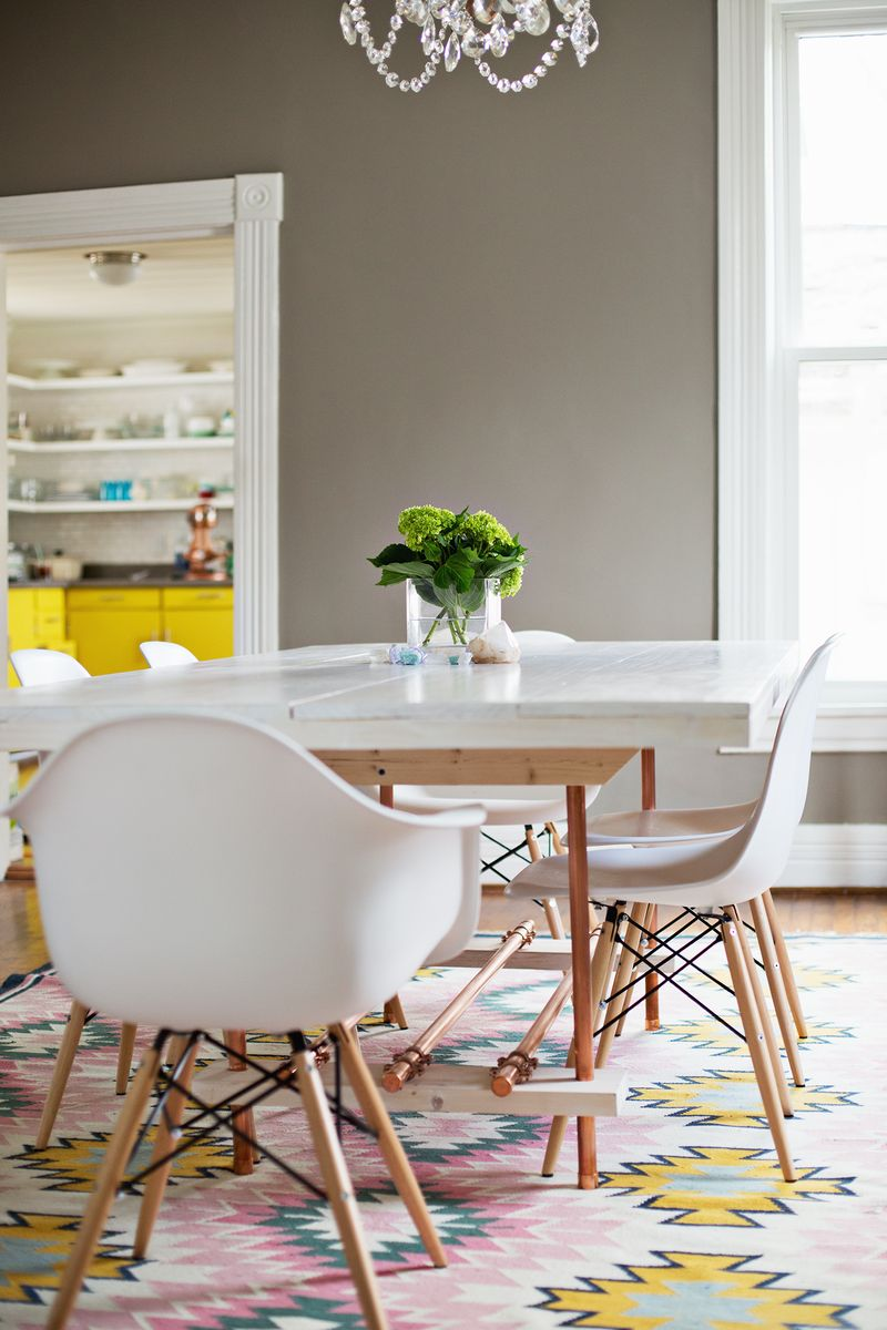 Copper legged table 12 Cheap And Easy