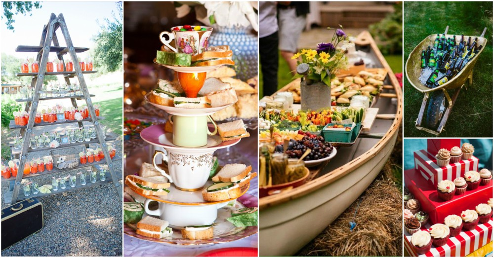 creative food display ideas that will leave the best impression