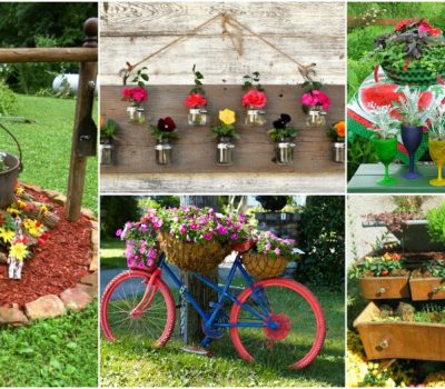 15 Fascinating Garden Planter Ideas To Spice Up Your Garden