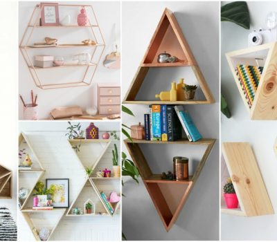 Creative Geometric Shelves That Will Add Dimension In Your Room