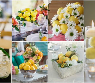 When Life Gives You Lemons, Make A DIY Lemon Centerpiece