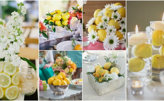 When Life Gives You Lemons, Make A DIY Lemon Centerpiece