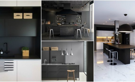 Black Matte Kitchen Designs That Will Steal Your Attention